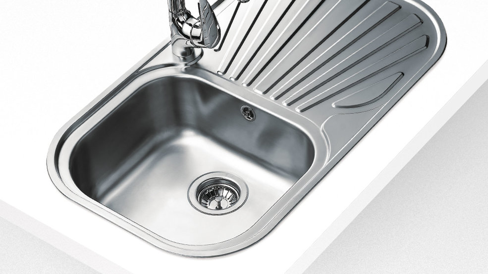 View 1 of sink STYLO 1B 1D Stainless Steel by Teka