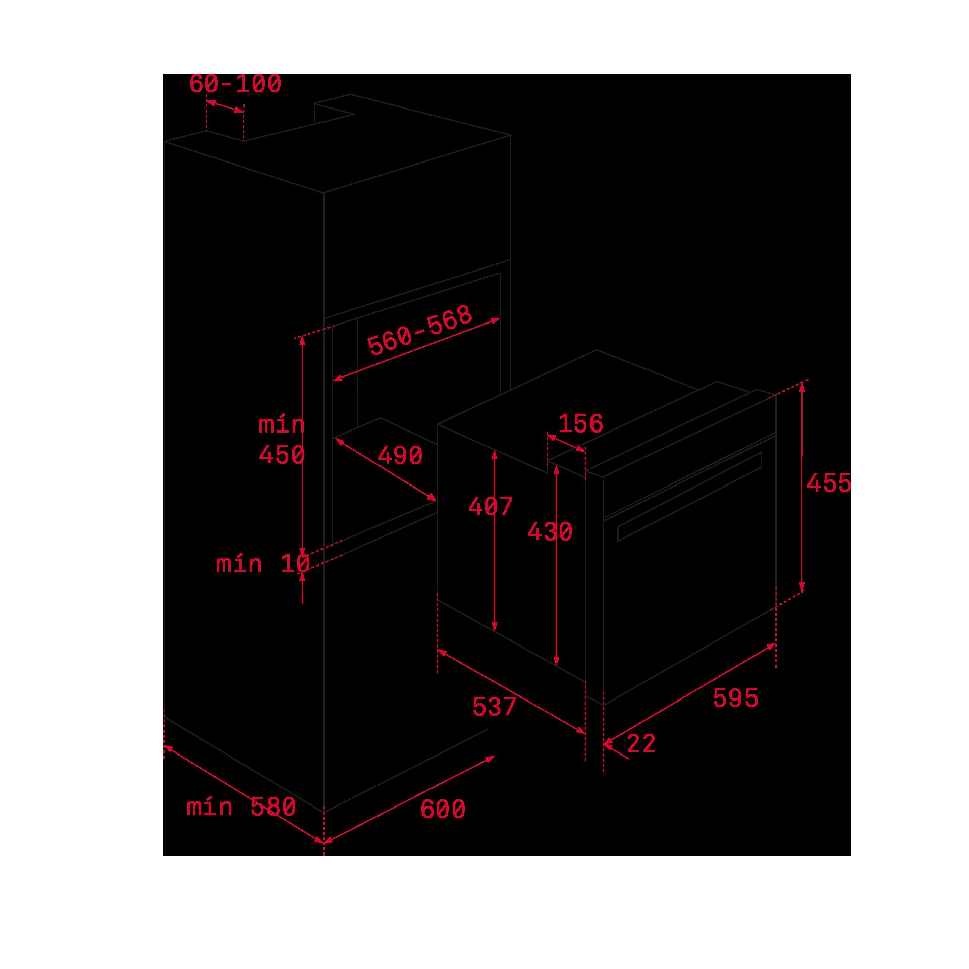 HBC 535 | Teka Compact Oven - 45 cm