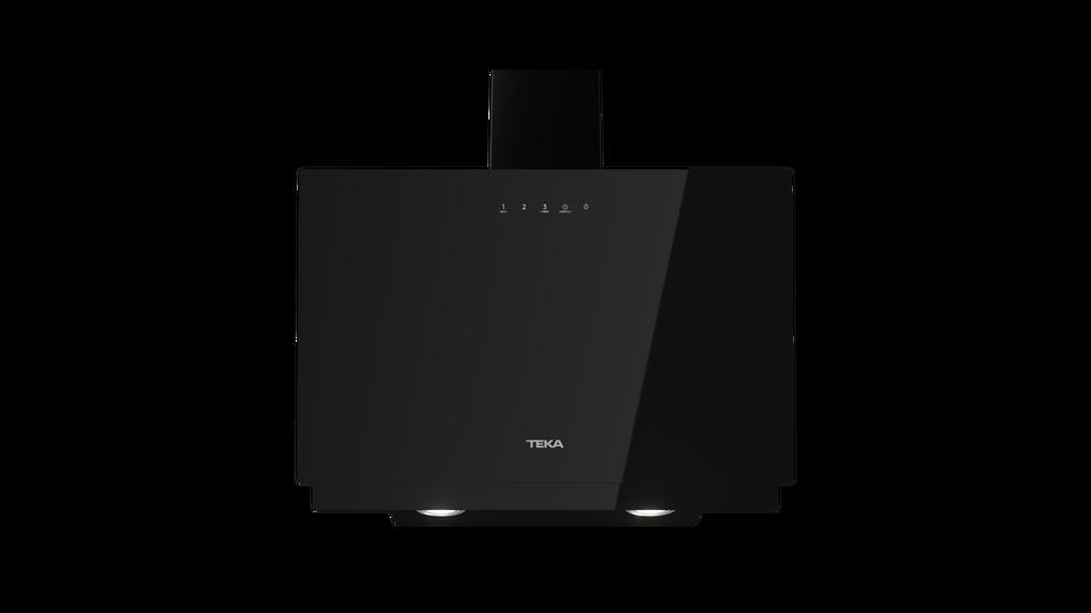 Imagen 1 de campana DVN 67050 TTC BK Cristal negro de Teka