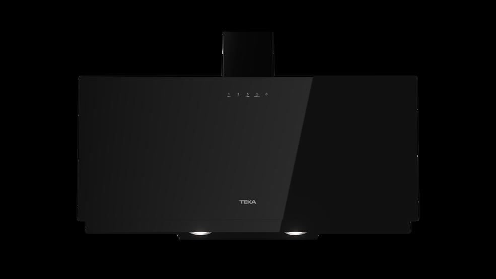 Imagen 1 de campana DVN 97050 TTC BK Cristal negro de Teka