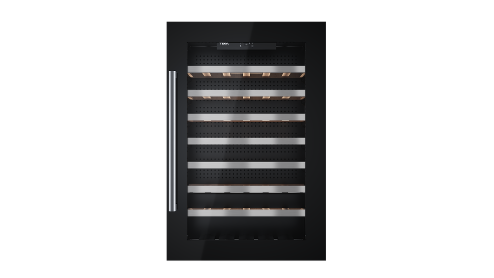 View 1 of wine cooler RVI 460 Black Glass by Teka