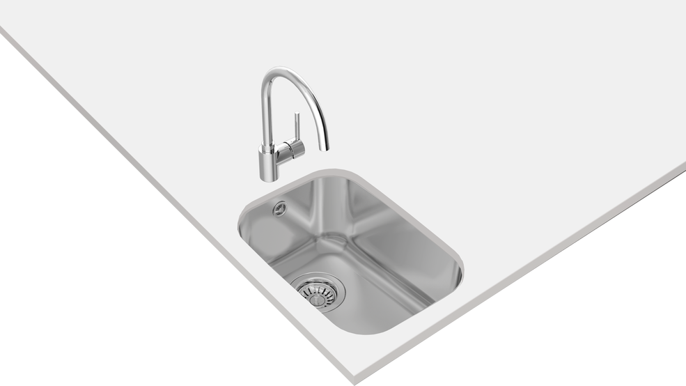 View 1 of sink BE 28.40 Stainless Steel by Teka