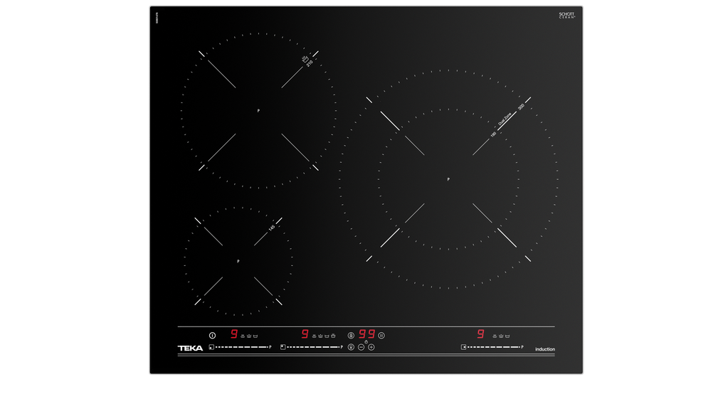 View 1 of hob IT 6320 Black Glass by Teka
