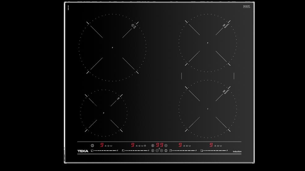 View 1 of hob IT 6420 Black Glass by Teka