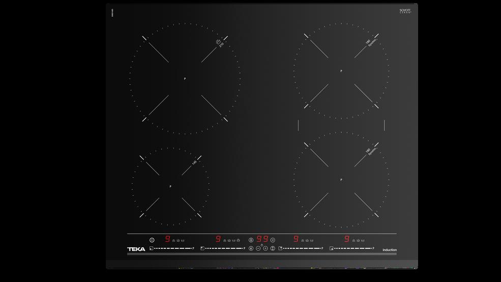 View 1 of hob IZ 6420 Black Glass by Teka