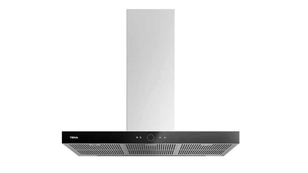 View 1 of hood PERFECTA4 DLH 985 T Stainless Steel/Black Glass by Teka