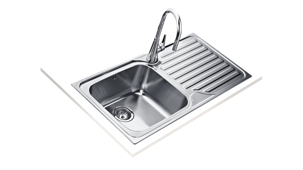 View 1 of sink Classic Max 1000 1B 1D Stainless Steel by Teka