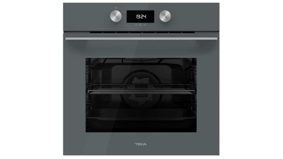 View 1 of oven HLB 8400 P Stone Grey Glass by Teka
