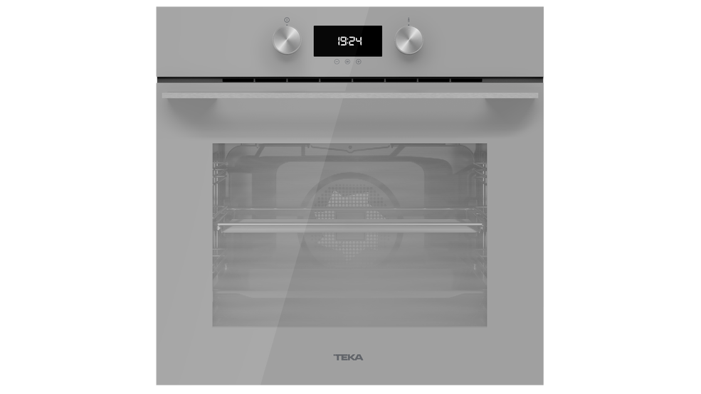 View 1 of oven HLB 8410 Steam Grey Glass by Teka