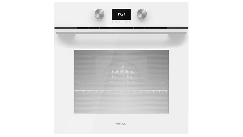 View 1 of oven HLB 8600 WH White Glass by Teka
