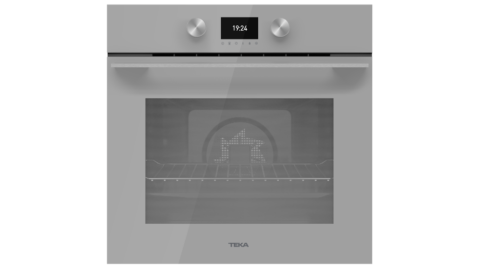 View 1 of oven HLB 8600 Steam Grey Glass by Teka