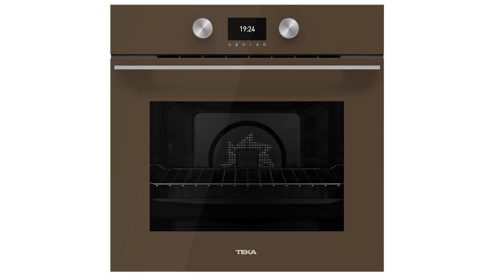 View 1 of oven HLB 8600 London brick brown glass by Teka
