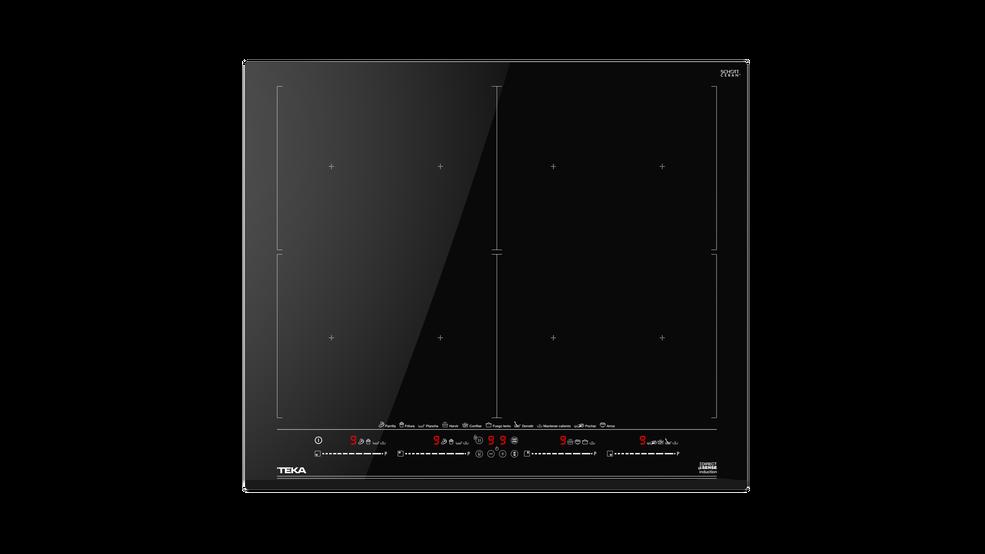 Imagen 1 de placa DirectSense IZF 68610 MST Black Glass de Teka