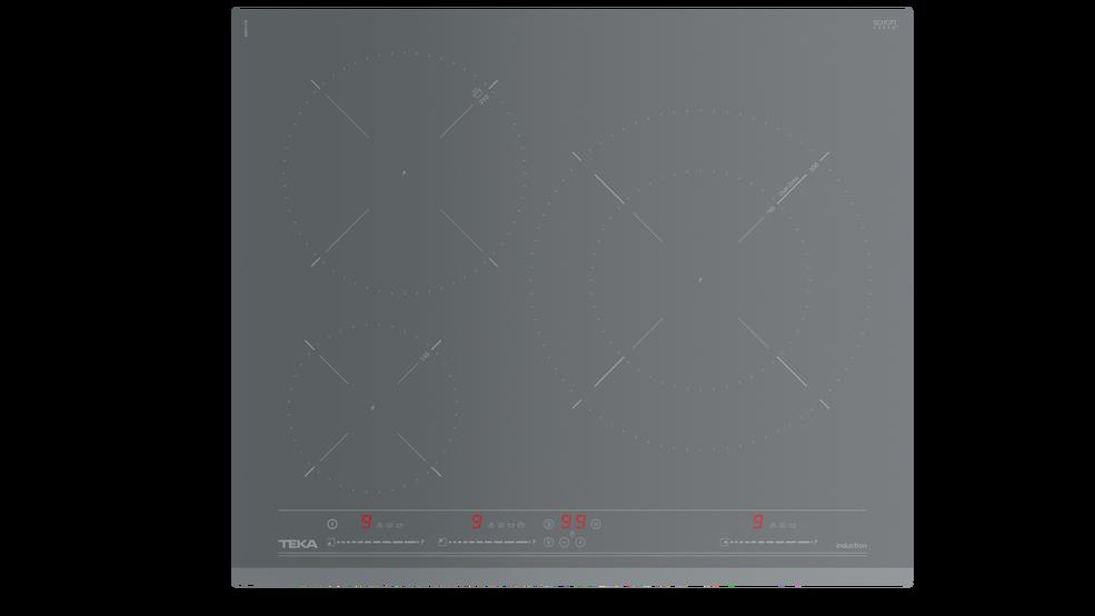 View 1 of hob IZ 6320 Stone Grey Glass by Teka