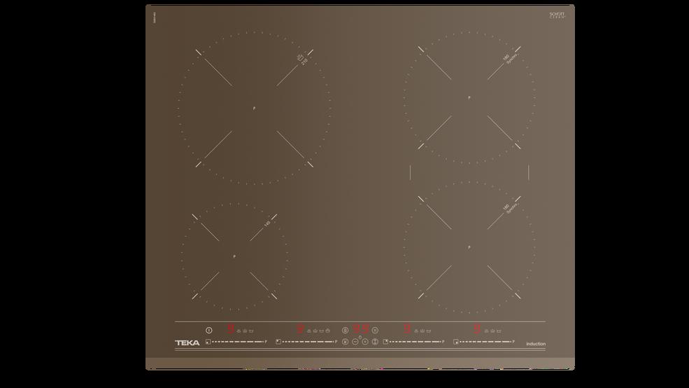 View 1 of hob IZ 6420 London brick brown glass by Teka