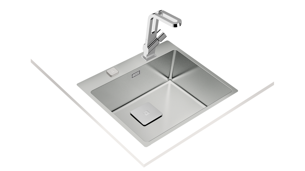 View 1 of sink ForLinea RS15 50.40 Auto Stainless Steel by Teka