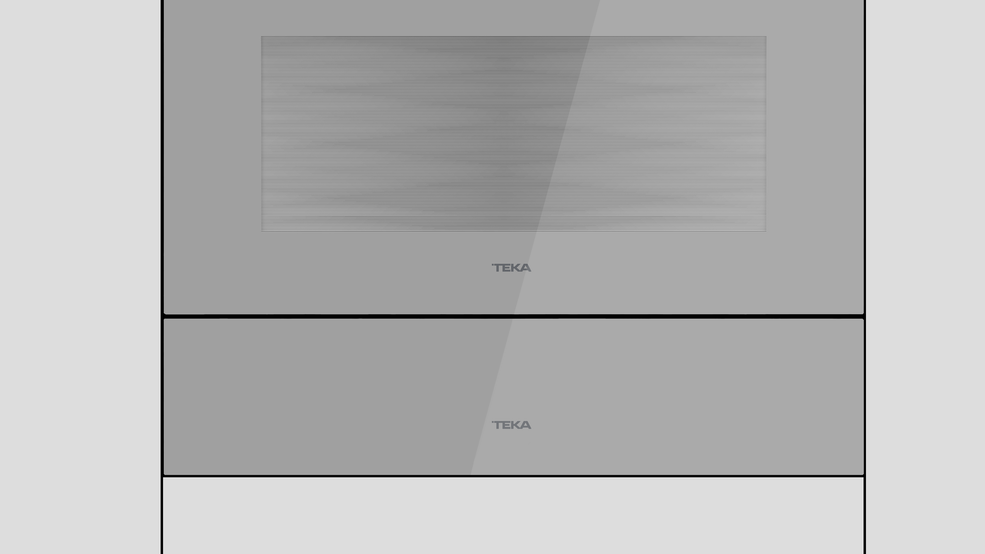 View 1 of kitchen accessory KIT VS/CP COLOR Steam Grey Glass by Teka