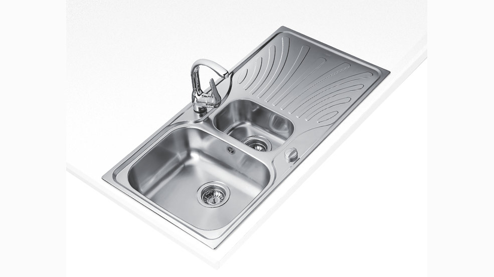 View 1 of sink NERISSA 60 1½B 1D by Teka