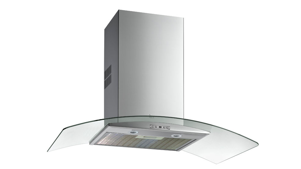 View 1 of hood NC 980 Stainless Steel Glass Wing by Teka