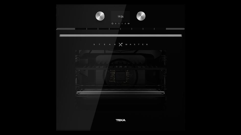 Imagen 1 de horno SteakMaster Cristal negro de Teka