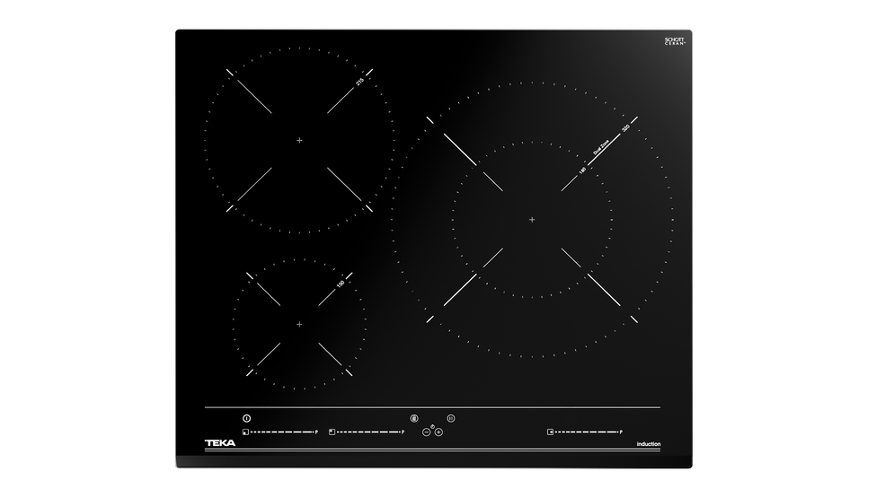 View 1 of hob IZC 63320 BK MSS Black Glass by Teka