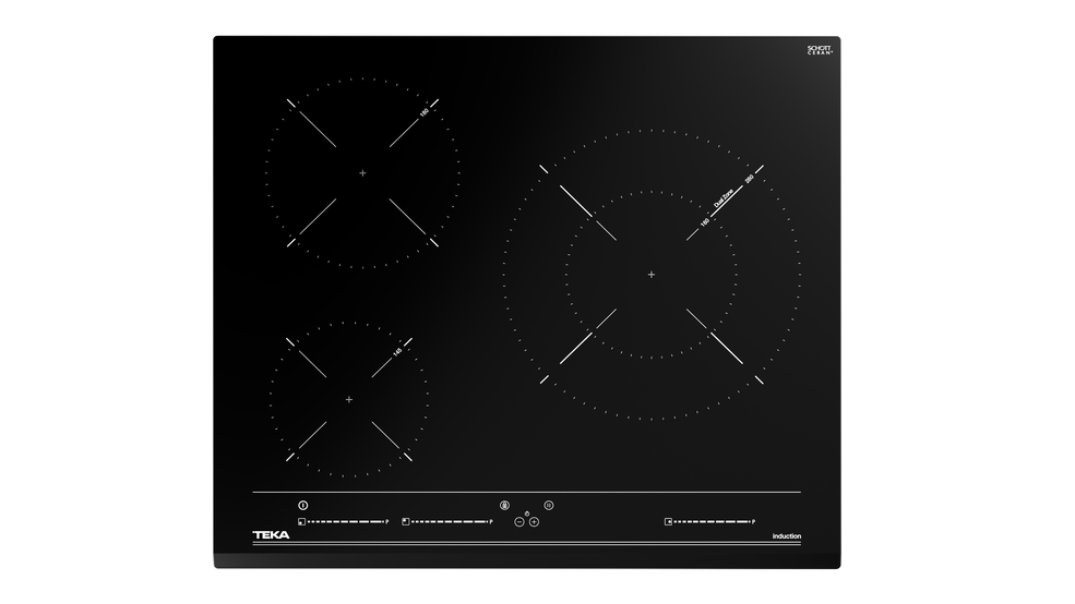 Imagen 1 de placa IZC 63015 MSS Black Glass de Teka