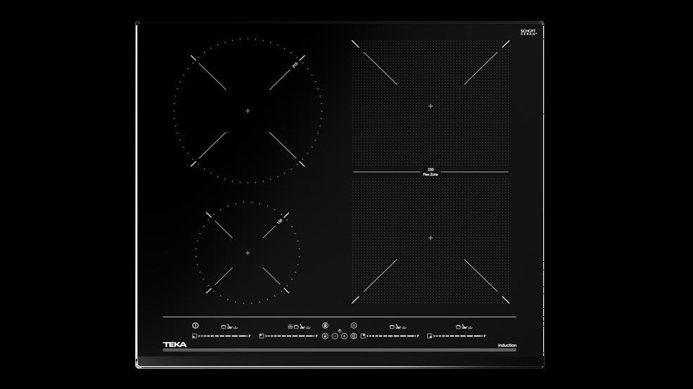 View 1 of hob IZF 64440 BK MSP Black Glass by Teka