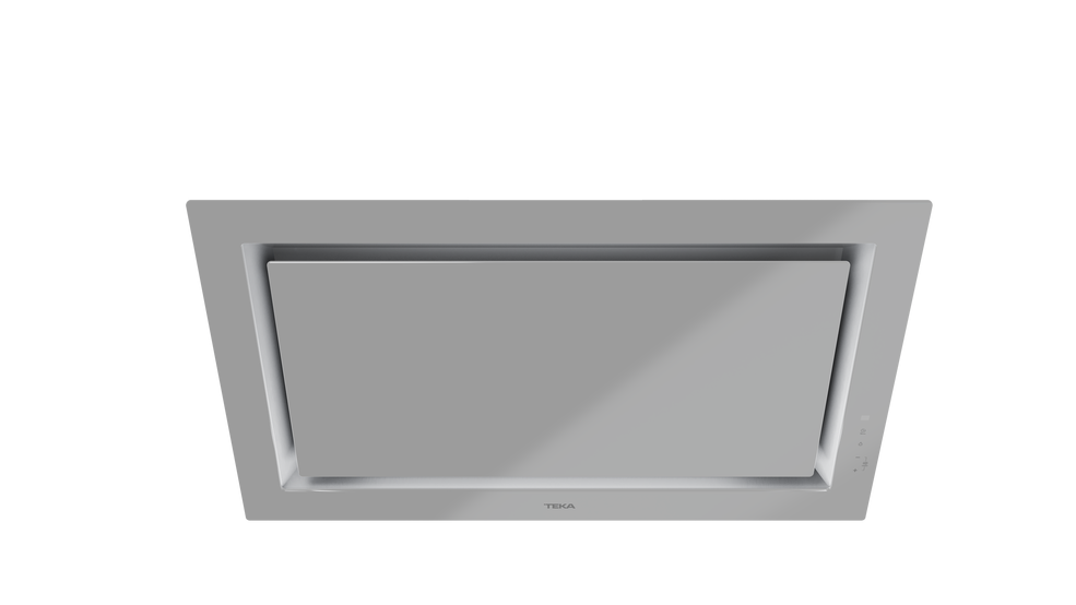 View 1 of hood DLV 98660 TOS Steam Grey Glass by Teka