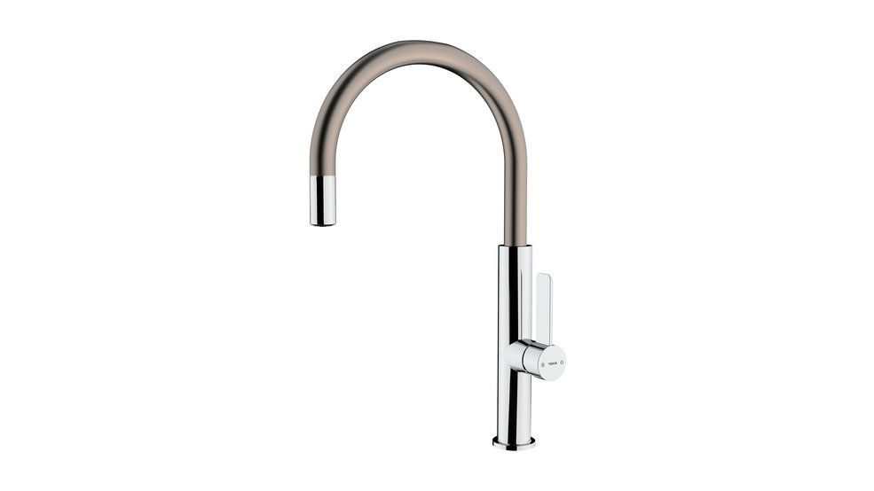 View 1 of sink tap FOT 995 Chrome Titanium by Teka