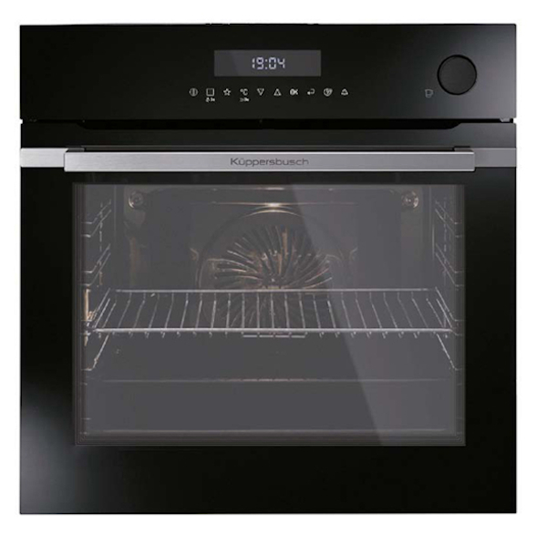 View 1 of oven BD6750.0S Stainless Steel/Black Glass by Kúppersbusch
