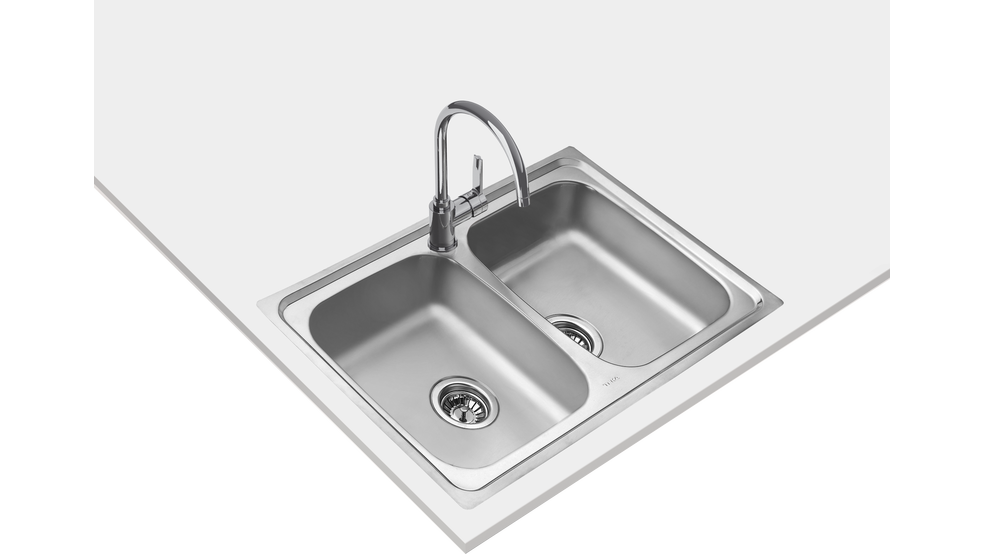 View 1 of sink STARBRIGHT 80 E-XP 2B Stainless Steel by Teka
