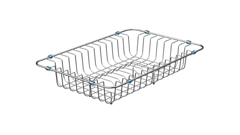 View 1 of kitchen accessory Dish Basket 330x490x130 Stainless Steel by Teka