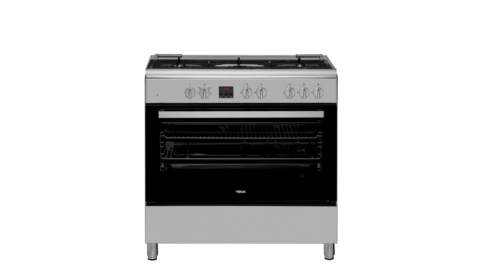 View 1 of free standing cooker FS 901 5GE Stainless Steel by Teka