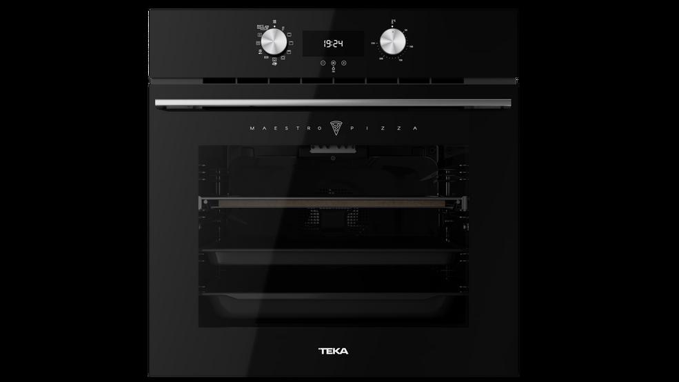 View 1 of oven MAESTROPIZZA HLB 8510 P Black Glass by Teka