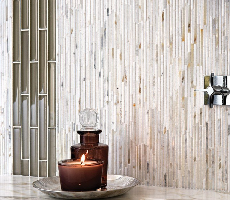 Heavy Rain Mosaics Stone Akdo Tile Dealers