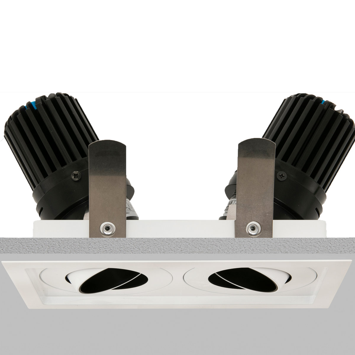 Square Double 50+ Downlight main image