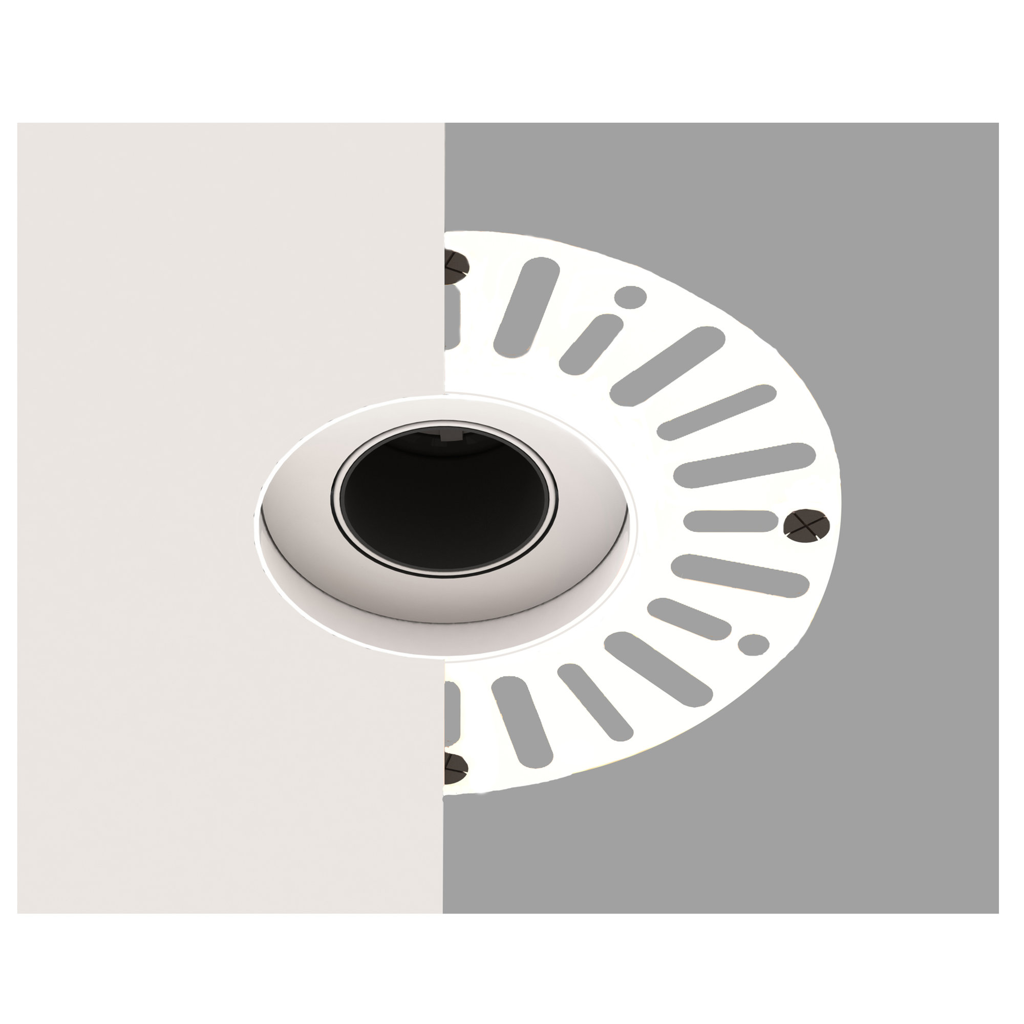 Plaster-in Recessed Downlight Accessory