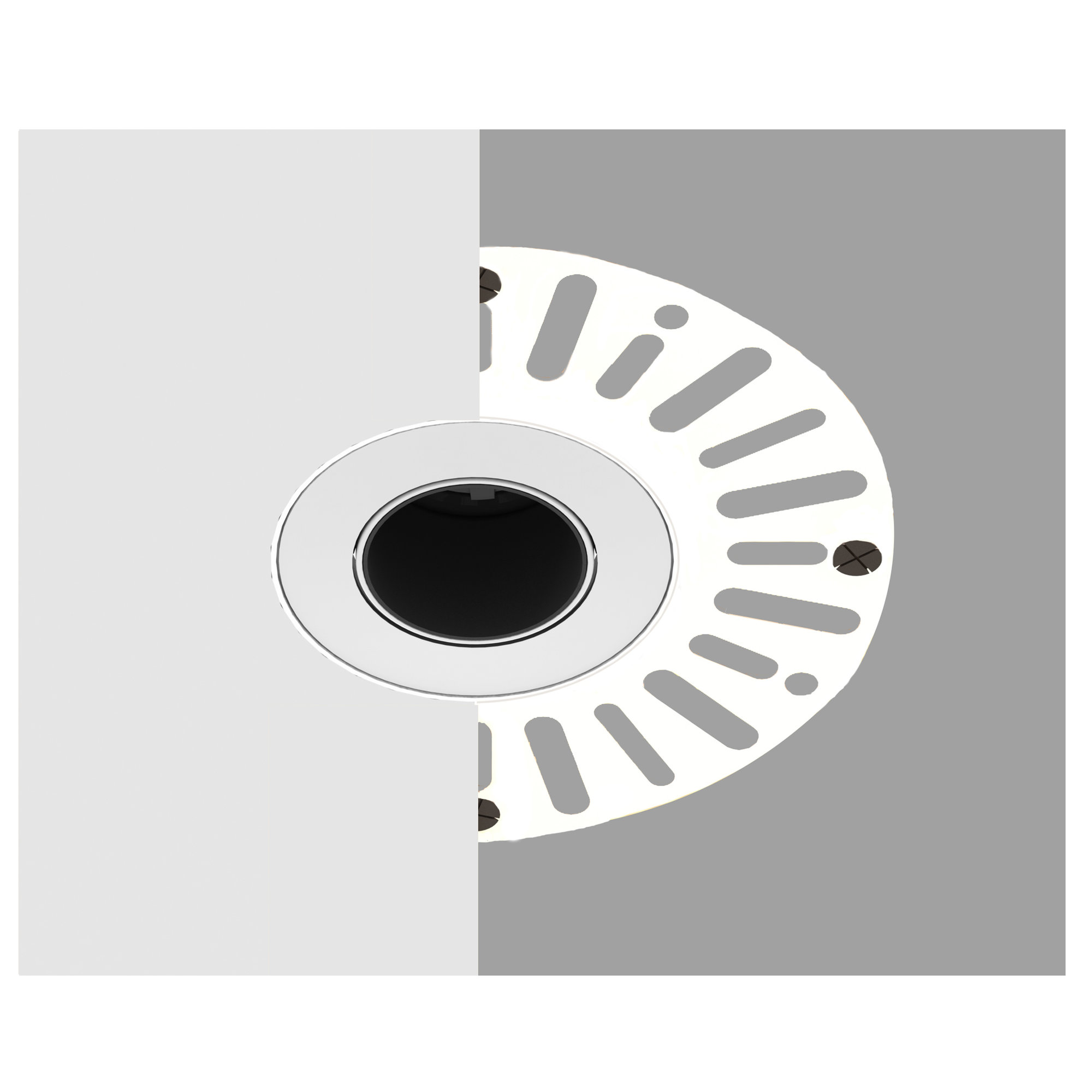 Plaster-in Flush Downlight Accessory
