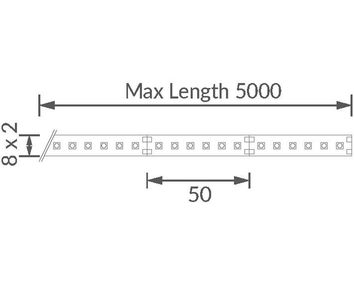 Contour HD27 LED Strip technical image