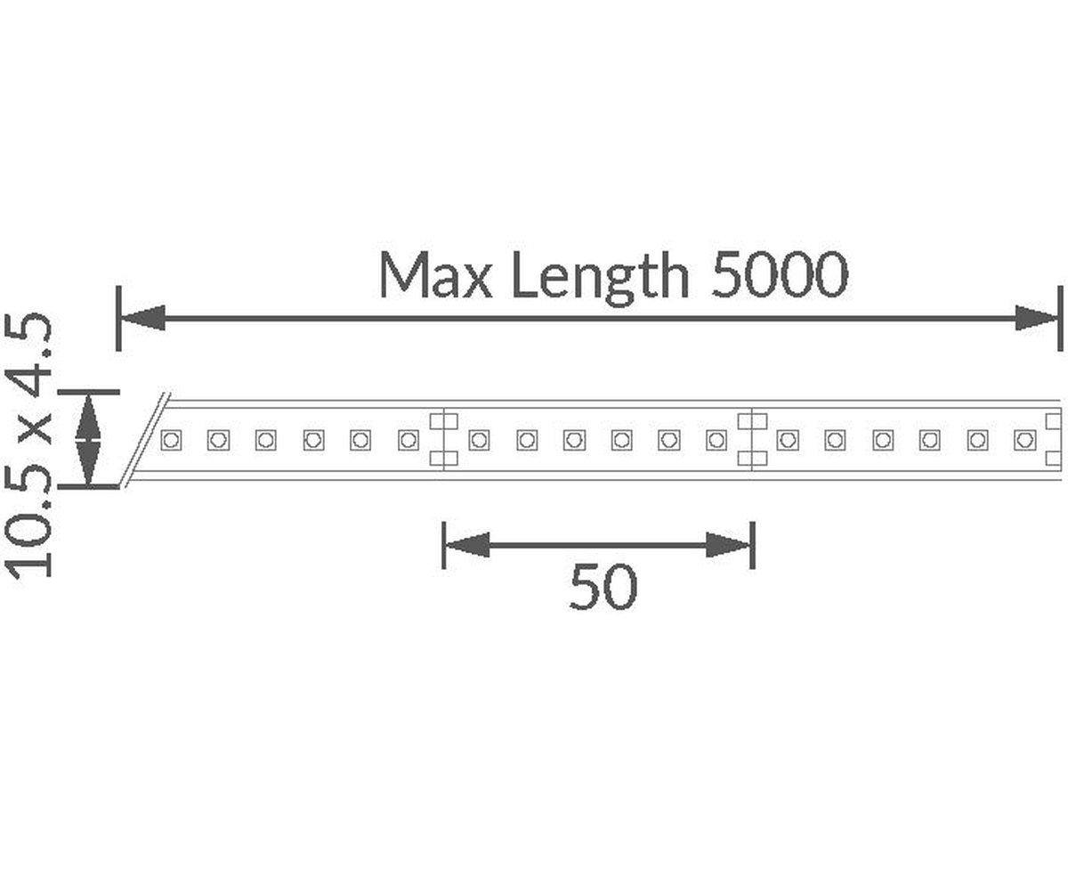 Contour HDX27 LED Strip technical image