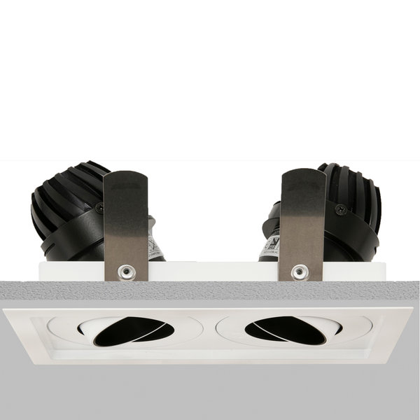 Square Double 50 Trim Downlight