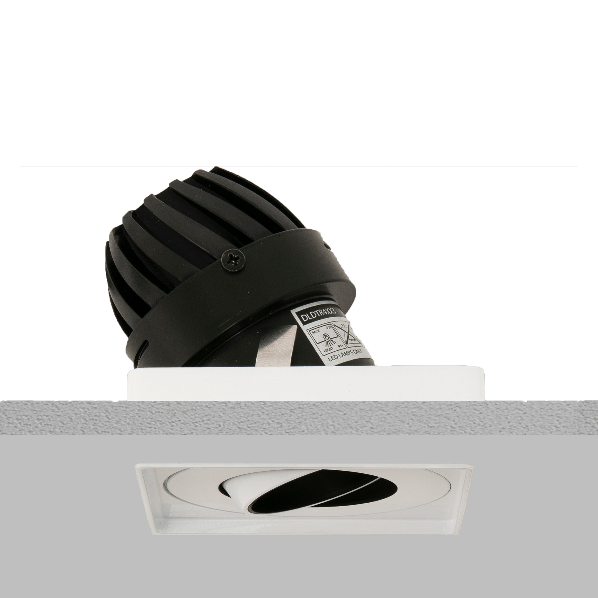Square 50 Trimless Downlight