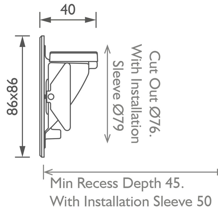 Sirolo Steplight technical image