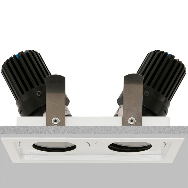 Square Double 50+ IP Downlight