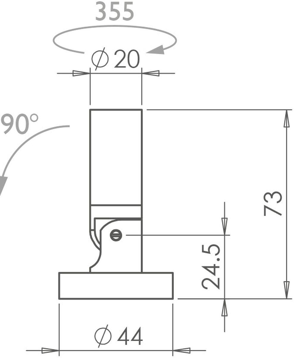 Vorsa Fix 20 Interior Spotlight technical image