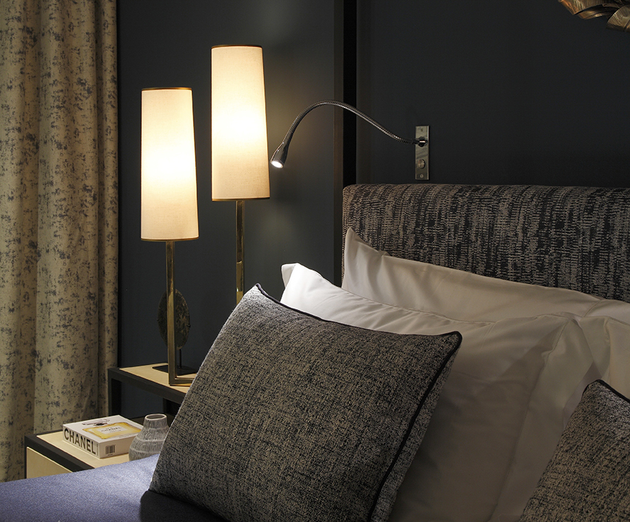 Cama LED bedside reading light