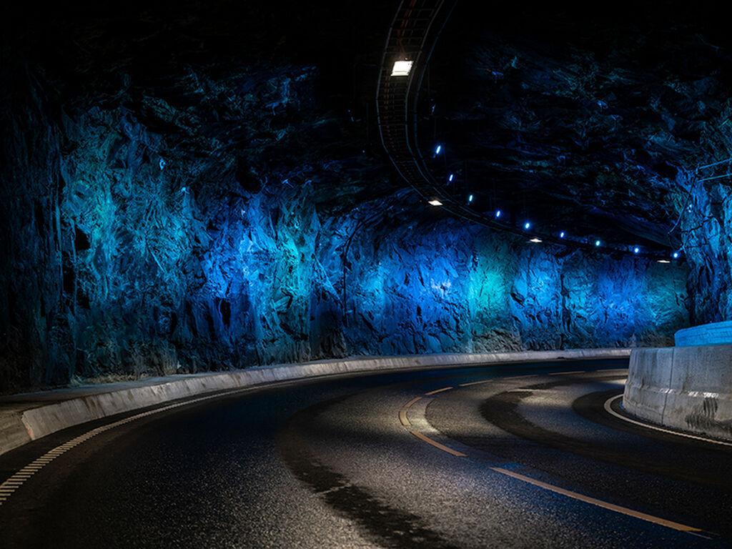 Spiralen Tunnel