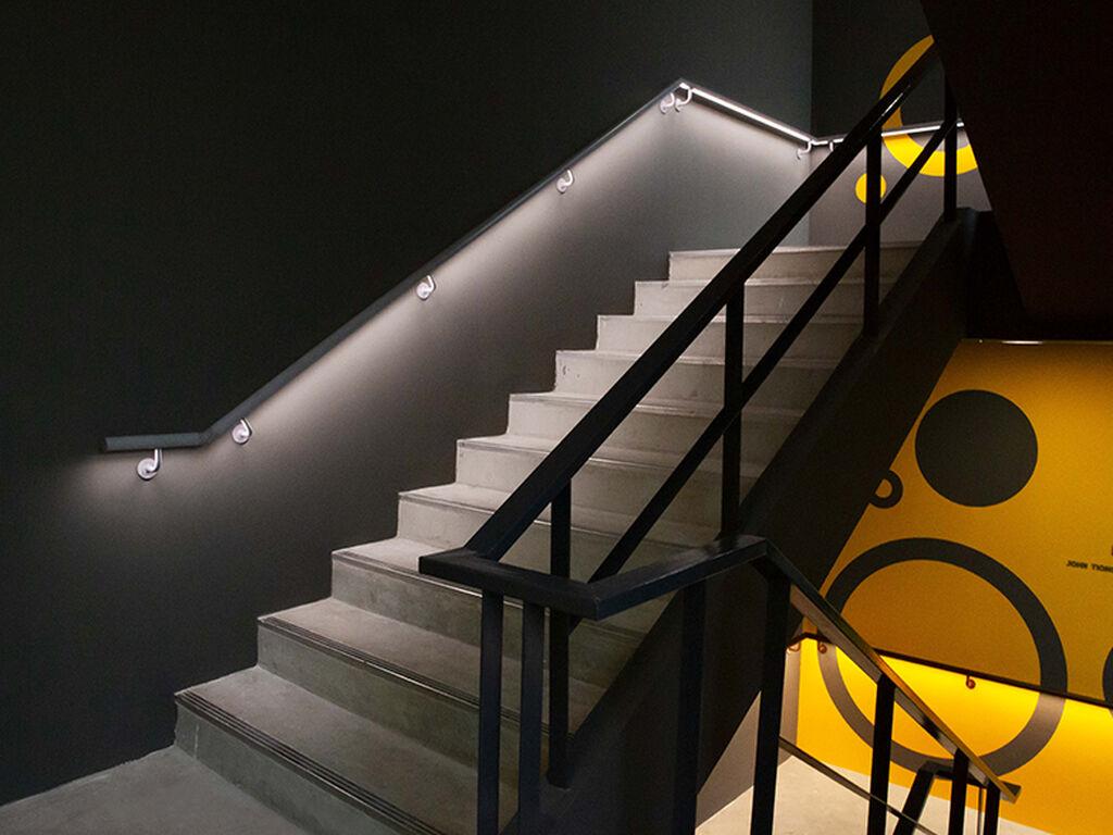 The LANTERN Building, Handrail system