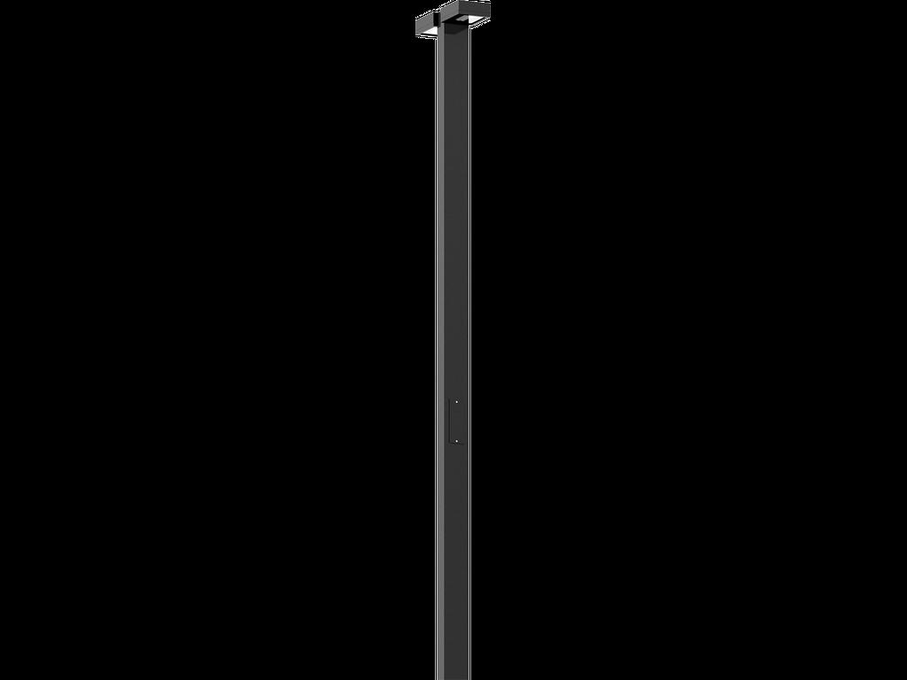 Eclairage public avec détecteur de mouvements