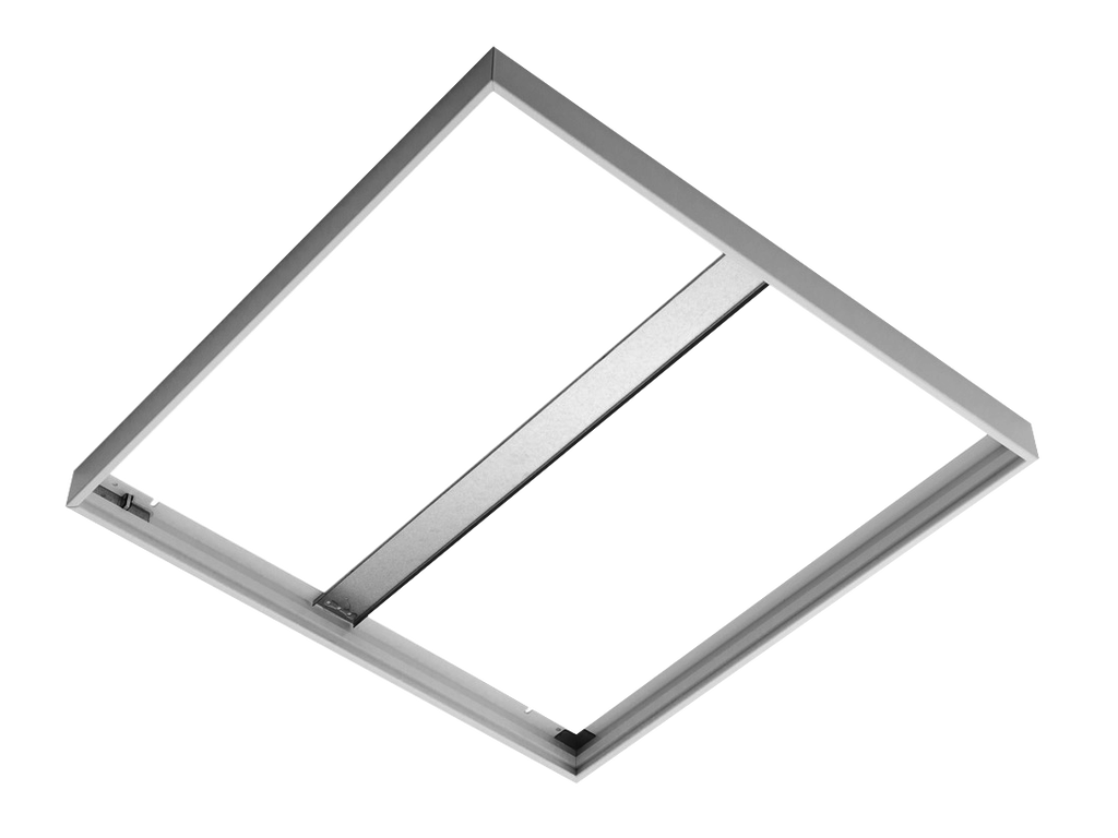 Frame for surface installation SQUARE (White)